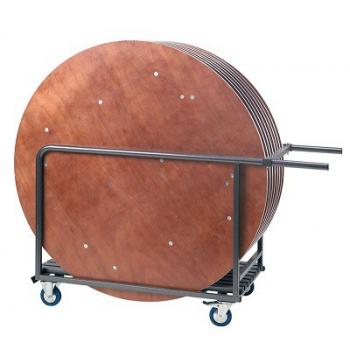 Transportní vozík pro skládací kulaté stoly