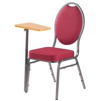 Přídavný psací stolek ke stohovatelným židlím