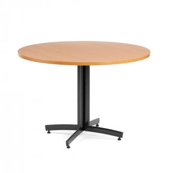 Kulatý jídelní stůl Sanna, Ø1100 mm, buk, černá