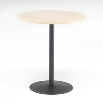 Kavárenský stolek Astrid, Ø700 mm, bříza/černá