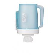 Tork Zásobník přenosný na role se středovým odvíjením - Mini, barva tyrkysová/bílá