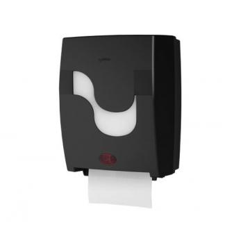 Elektronický zásobník CELTEX na ručníky v roli, černý