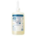 Systém Tork pro mytí a čištění rukou splňuje ty nejnáročnější požadavky a zajišťuje dokonalou hygienu. Zásobník tekutého mýdla a nový design obalů mýdel a čisticích prostředků byly optimalizovány tak, aby fungovaly v dokonalé harmonii a aby je bylo možné snadno a rychle doplňovat. m S1 - Systém tekutého mýdla, Objem: 1.0 l