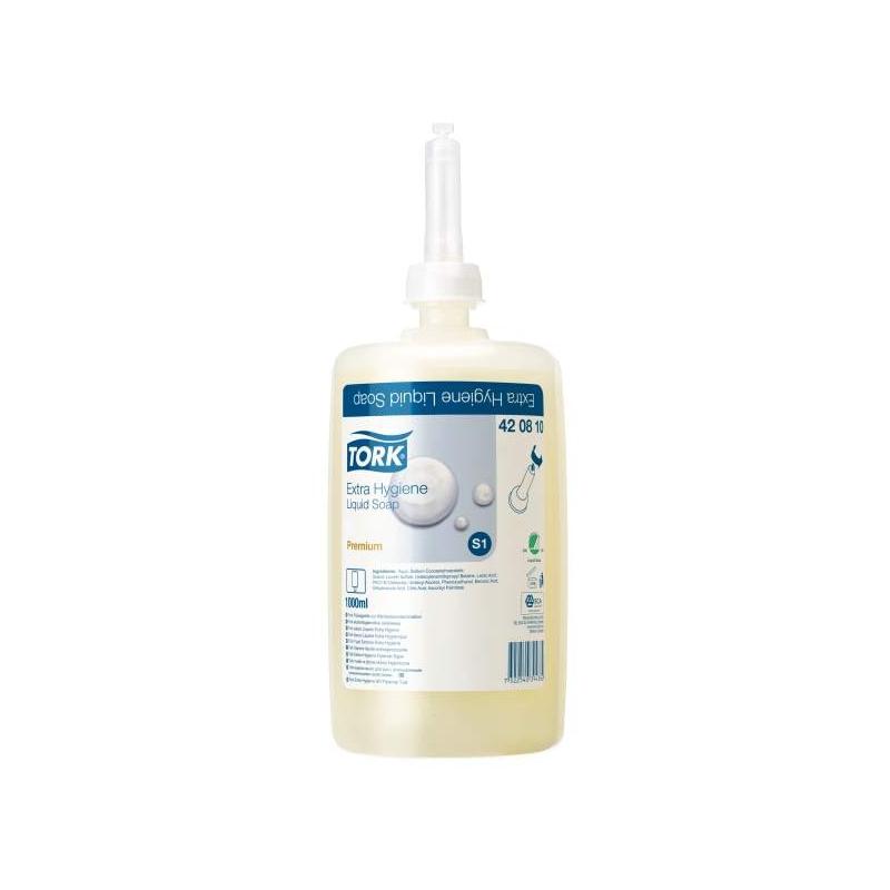 Tork extra hygienické tekuté mýdlo, 1000 ml (S1)