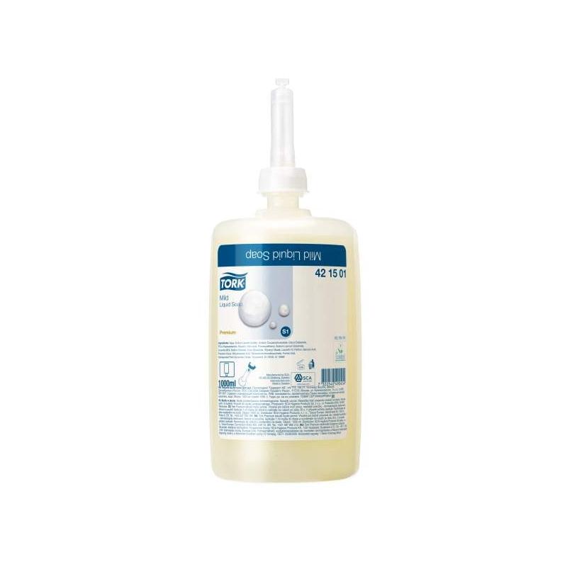 Tork jemné tekuté mýdlo, 1000 ml (S1)