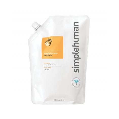 Hydratační tekuté mýdlo Simplehuman – 1 l náhradní náplň s vůní mandarinky