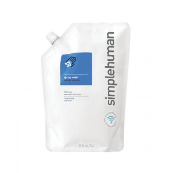 Hydratační tekuté mýdlo Simplehuman – 1 l náhradní náplň s vůní spring water