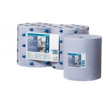 Tork Advanced utěrky 420 se středovým odvíjením, modré, návin 157,5 m, 6 rolí