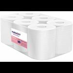 Papírové ručníky v roli se středovým odvíjením Harmony Professional,materiál: celulóza, počet vrstev: 2, průměr role: 190 mm, délka: 125 m, počet balení v kartonu: 6, délka útržku: 250 mm, šířka útržku: 200 mm.