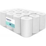 Papírové ručníky v roli se středovým odvíjením Harmony Professional,materiál: recykel, počet vrstev: 2, průměr role: 130 mm, délka: 55 m, počet balení v kartonu: 12, délka útržku: 250 mm, šířka útržku: 200 mm.