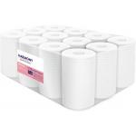 Papírové ručníky v roli se středovým odvíjením Harmony Professional,materiál: celulóza, počet vrstev: 2, průměr role: 130 mm, délka: 55 m, počet balení v kartonu: 12, délka útržku: 250 mm, šířka útržku: 200 mm.