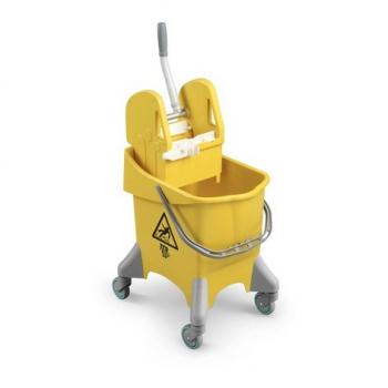 Úklidový vozík TTS Pile, žlutý