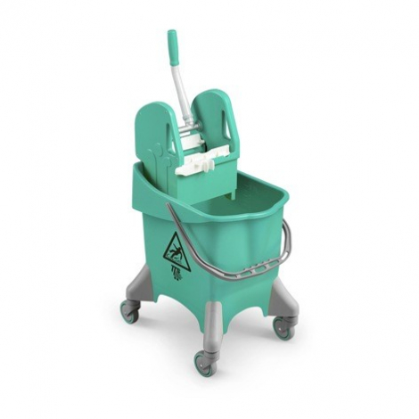Úklidový vozík TTS Pile, zelený