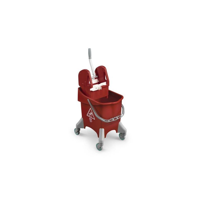 Úklidový vozík TTS Pile, červený