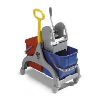Úklidový vozík TTS Nick 2, šedý