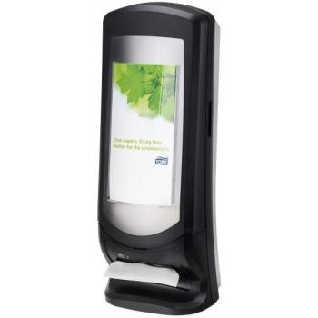 Tork Xpressnap® vysokokapacitní zásobník na ubrousky, černý