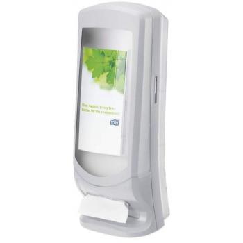 Tork Xpressnap® vysokokapacitní zásobník na ubrousky, šedý