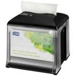 Garantujeme, že systém dávkování ubrousků Tork Xpressnap® sníží spotřebu ubrousků minimálně o 25% v porovnání s tradičními zásobníky. Pomůže Vám tak snížit náklady a množství odpadu. Systém N10 - Systém ubrouskůTork Xpressnap Snack™, Materiál: Plast , Barva: Černá , Šířka: 149 mm, Výška: 157 mm, Hloubka: 149 mm