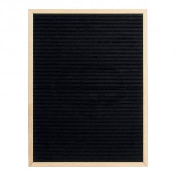 Nasouvací tabule 60x80cm s dřevěným rámečkem a 360 plast.písmeny,čísly a symboly