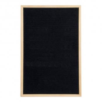 Nasouvací tabule 40x60cm s dřevěným rámečkem a 360 plast.písmeny,čísly a symboly