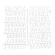 Přídavná písmena, čísla a znaky k tabulím s nasazovacímí písmeny