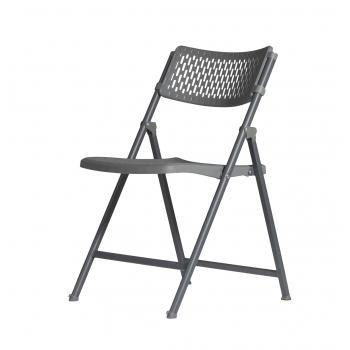 Plastová skládací židle ZOWN ARAN CHAIR - NEW - šedá