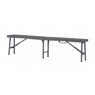 Skládací lavice ZOWN SHARP BENCH - NEW - 184 x 30,5 x 44,5 cm