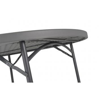 Rautový skládací stůl ZOWN PLANET 120 - NEW - Ø122 cm