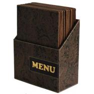 Box s jídelními lístky Securit Design - Paisley