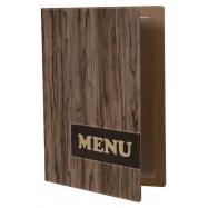 Jídelní lístek Securit Design A4 - wood