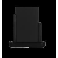 Stolní stojánek Securit s popisovací tabulkou malý - černá