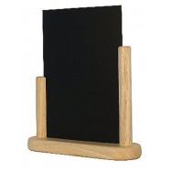Stolní stojánek Securit s popisovací tabulkou střední - Plain