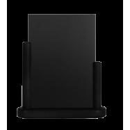 Stolní stojánek Securit s popisovací tabulkou střední - černá
