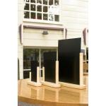 Stolní stojánek s tabulkou 21x30 cm, velký, lakovaný Plain