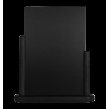 Stolní stojánek Securit s popisovací tabulkou velký - černá