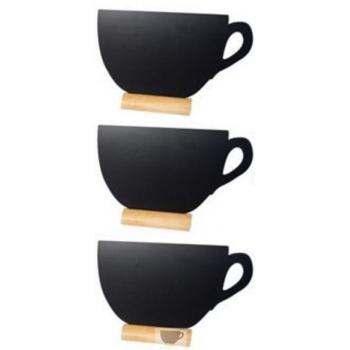 3 stojánkové Securit tabulky CUP