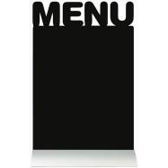 Stolní popisovací tabule Securit s hliníkovým stojánkem a 1 popisovačem MENU