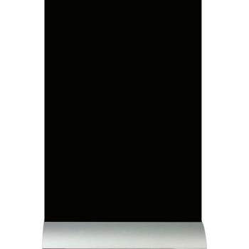 Stolní popisovací tabule Securit s hliníkovým stojánkem a 1 popisovačem A4