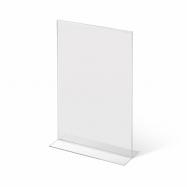 Stolní plexi stojánek A5 na výšku 215x150 mm