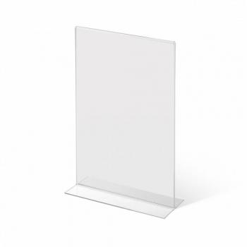 Stolní plexi stojánek A6 na výšku 150x105 mm
