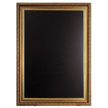 Nástěnná tabule Securit 65 x 85 cm - zlatá