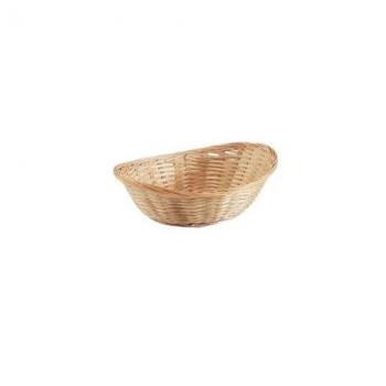 Košík bambusový, mořený
