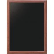 Nástěnná tabule Securit 50 x 60 cm - Mahagon