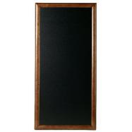 Nástěnná tabule Securit 56 x 100 cm - tmavě hnědá