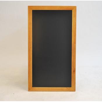 Nástěnná tabule Securit 56 x 100 cm - Teak