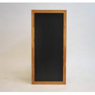 Nástěnná tabule Securit 56 x 120 cm - Teak