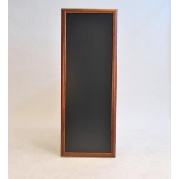 Nástěnná tabule Securit 56 x 150 cm - tmavě hnědá