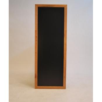 Nástěnná tabule Securit 56 x 150 cm - Teak
