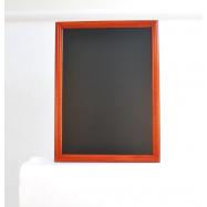 Nástěnná tabule Securit 60 x 80 cm - Mahagon