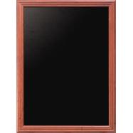 Nástěnná tabule Securit 70 x 90 cm - Mahagon